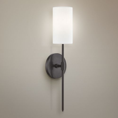 "Mitzi Olivia 18 3/4"" High Old Bronze Wall Sconce"