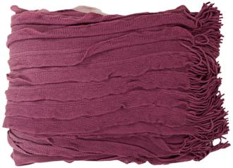 surya toya collection plum throw (4k866)