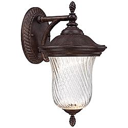 "Wellington 11 1/4"" High LED Bronze Outdoor Wall Light"