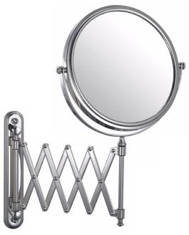 Aptations Chrome Swing Arm Vanity Mirror (50809)