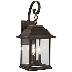 "Mariner's Pointe 25 1/2"" High Bronze Outdoor Wall Light"