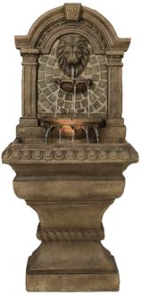 "Royal Lions-Head 51"" High LED Floor Fountain (55178)"