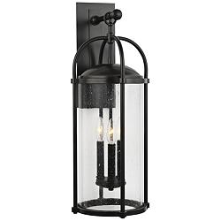 "Feiss Dakota 24 3/4"" High Espresso Outdoor Wall Light"