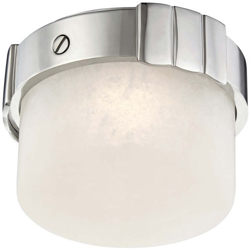 "Hudson Valley Beckett 6""W Polished Nickel LED Ceiling Light"