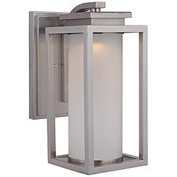 "Vailridge 15 1/2""H Stainless Steel LED Outdoor Wall Light"