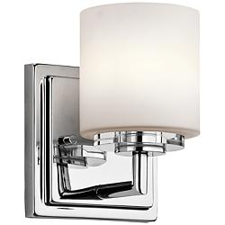 "Kichler O'Hara 6 1/2"" High Chrome Wall Sconce"