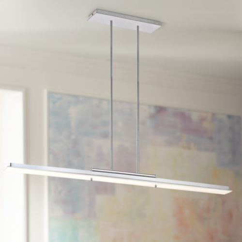 George Kovacs Twist and Shout Chrome LED Island Pendant