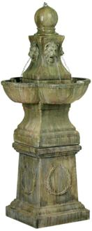 "Tuscan Garden Pedestal 54"" High Outdoor Fountain (60920)"