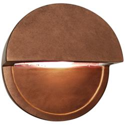 "Ambiance Collection™ 8""H Copper Dome LED Outdoor Wall Light"