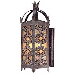 "Gables Collection 27"" High Outdoor Wall Light"