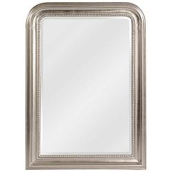 "Howard Elliott Sterling Silver 30 1/2"" x 42"" Wall Mirror"