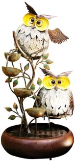 "Silva Owl Tiering 31"" High Fountain (6F415)"