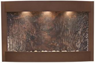Calming Waters Featherstone Woodland Brown Wall Fountain (6V093)