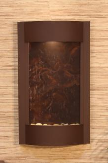 Serene Waters Featherstone Brown Wall Fountain (6X946)