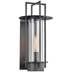 "Carroll Park 17 1/4"" High Bronze Outdoor Wall Light"