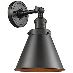 "Appalachian 13""H Oil-Rubbed Bronze Adjustable Wall Sconce"