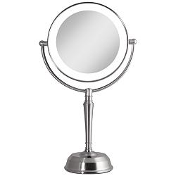 Next Generation® Satin Nickel Cordless LED Vanity Mirror