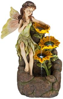 Garden Fairy with Sunflowers...