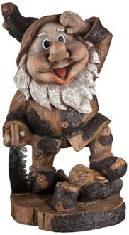 Saluting Gnome Woodworker...