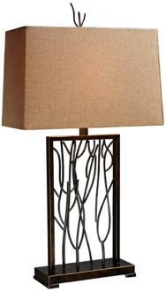 Dimond Belvior Park Aria Bronze Modern Table Lamp (7R064) 7R064