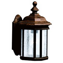 "Kirkwood Tannery Bronze 13"" High Outdoor Wall Light"