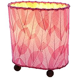 "Eangee 9""H Guyabano Pink Mini Uplight Accent Table Lamp"