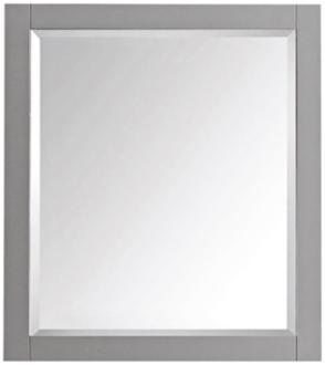 "Avanity Chilled Gray 28"" x 32"" Decorative Vanity Mirror (8V953)"