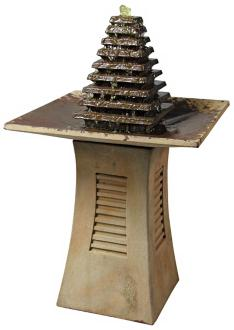 "Henri Studio 36 1/2"" High Astor Outdoor Centerpiece Fountain (92266)"