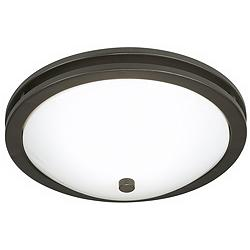 "Dramona 15"" Wide Deep Bronze Round Bowl Ceiling Light"