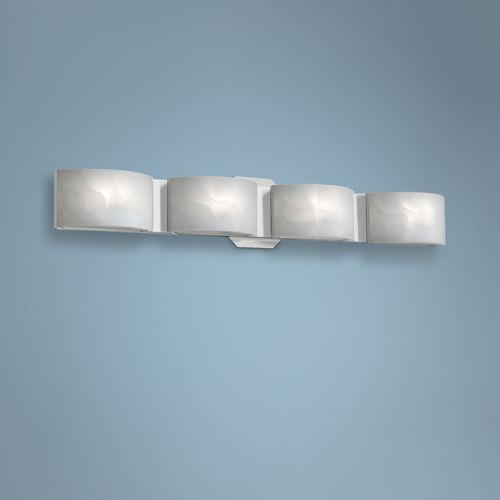"Eurofase Dakota 27"" Wide Chrome 4-Light LED Bath Light"