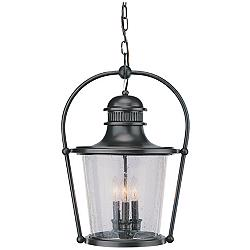 "Guild Hall Collection 20 1/2"" High Outdoor Hanging Light"