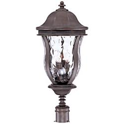 "Monticello Collection 28"" High Outdoor Post Light"