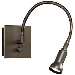 Holtkoetter Old Bronze Halogen Wall Light