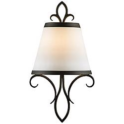 "Feiss Peyton Collection 14 1/4"" High Wall Sconce"
