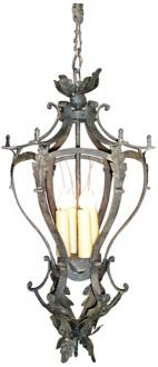 "Laura Lee Alexis 4-Light 12"" Wide Foyer Chandelier (R5347)"