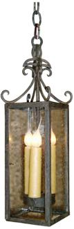 "Laura Lee Isabela 5"" Wide 3-Light Foyer Chandelier (R5354)"