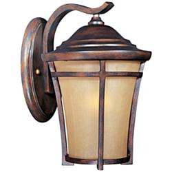 "Maxim Balboa VX 11 1/2"" High Copper Oxide Wall Light"