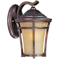 "Maxim Balboa VX 14"" High Copper Oxide Wall Light"