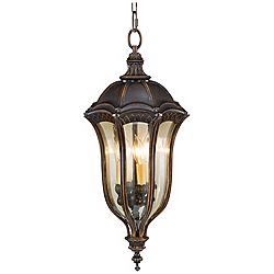 "Feiss Baton Rouge 27"" High Outdoor Hanging Lantern"