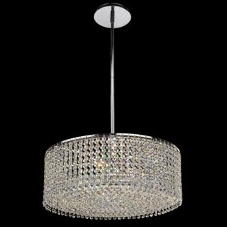 "Danube Crystal Double Layer 18"" Wide Pendant Chandelier (U5091) U5091"