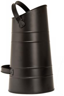 "black 11 1/2"" wide pellet scuttle (u9061)"