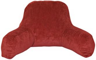happy hounds omaha ruby microfiber bed rest pillow (w6703)