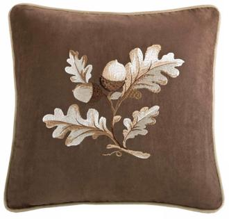 woolrich river run embroidered throw pillow (x4432)