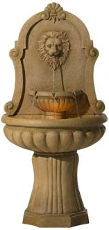 "Savanna Lion 58"" High Indoor - LED Outdoor Floor Fountain (Y6961)"
