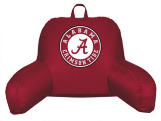 ncaa alabama crimson tide locker room team logo bedrest (y8548)