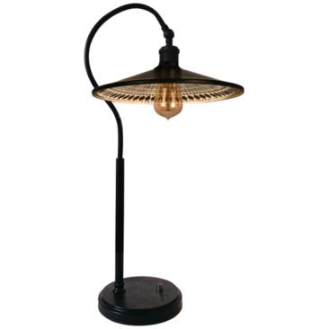 Dale Tiffany Boldero Copper-Bronze Mosaic LED Table Lamp