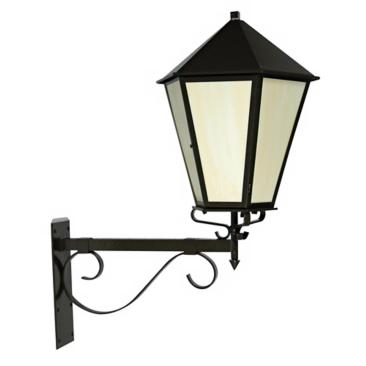 "Old World Bronze Finish 42"" High Wall Lantern"