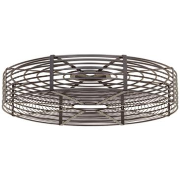 "32"" Vintage Breeze Black Cage Surround"