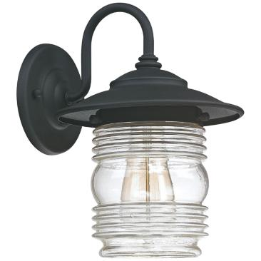 "Capital Creekside 11 3/4"" High Black Outdoor Wall Light"