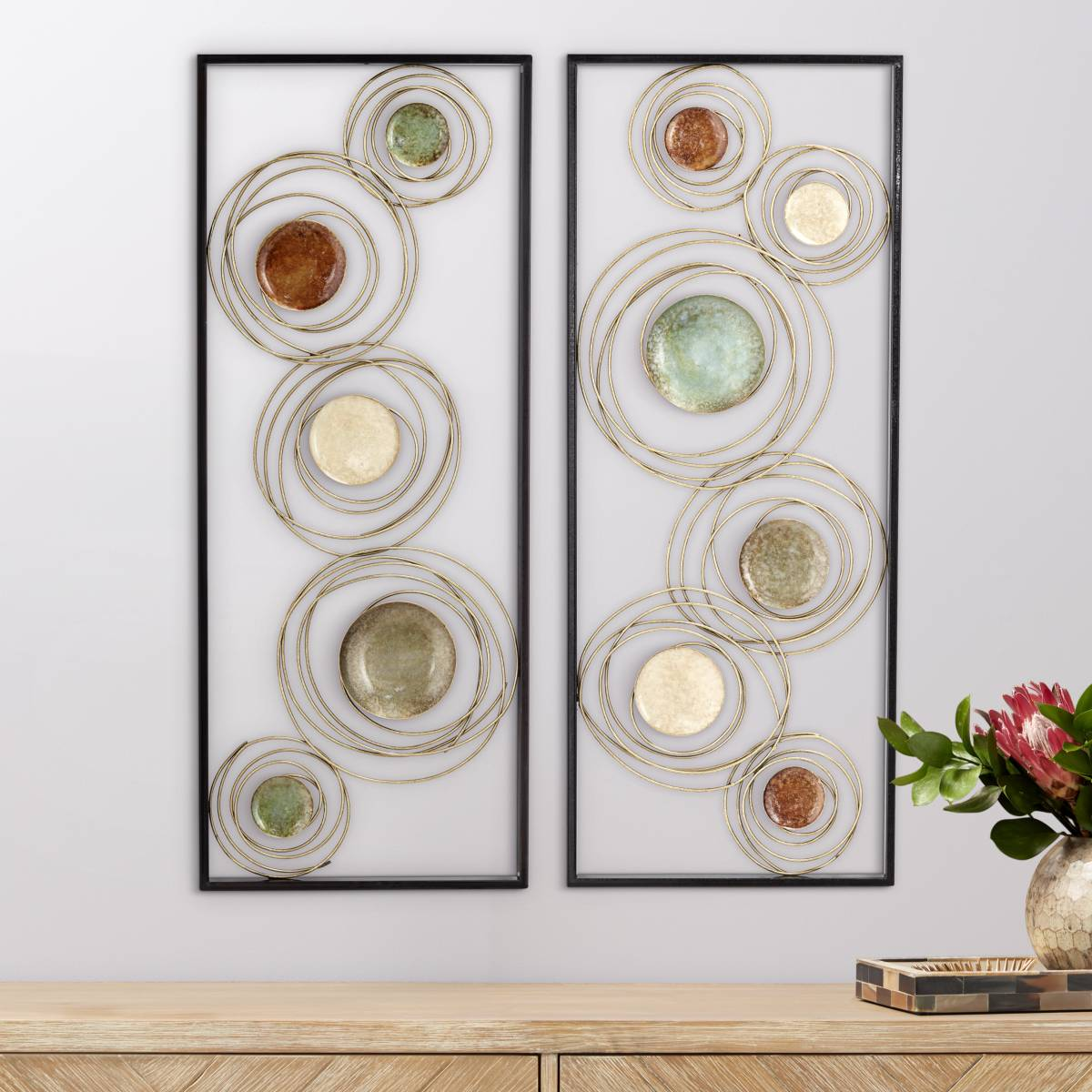 Lights Plus Decor: Metal Wall Art And Decor